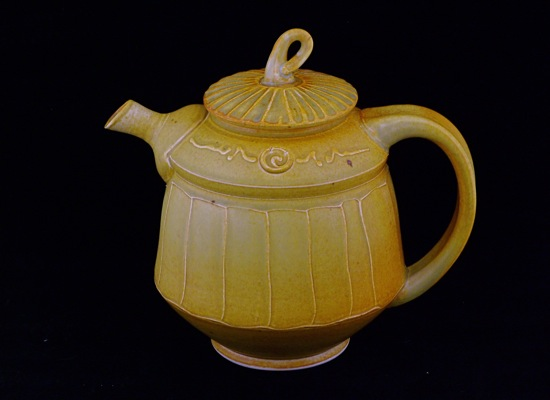 Tuscan Gold Tea Pot
