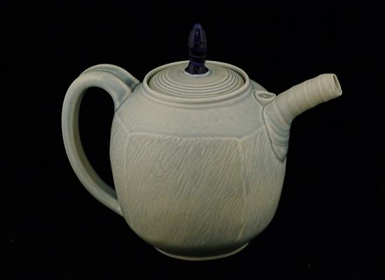 Sky Blue Tea Pot