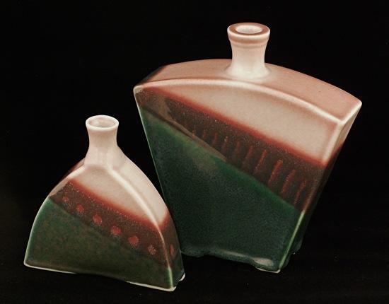 Hand built Bottles