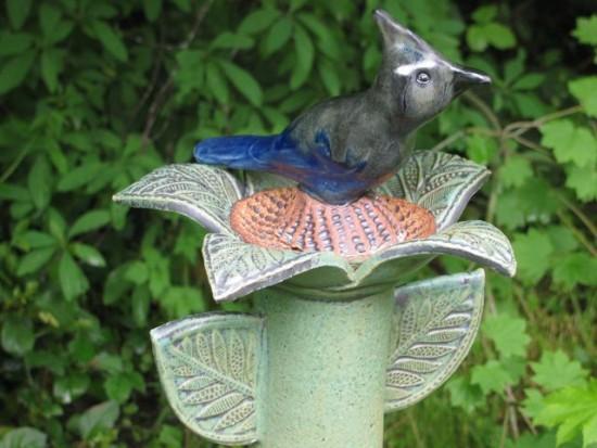 Blue Bird Totem